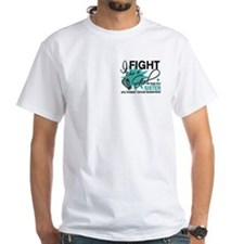 Fight Like a Girl For My Ovarian Cancer Shirt