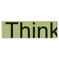 Think. Car Sticker