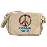 Re Elect Obama in 2012 Messenger Bag