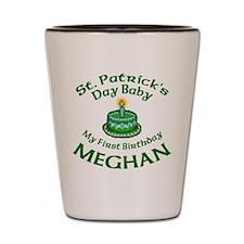 Custom Design for Meghan Shot Glass