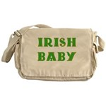 IRISH BABY (Celtic font) Messenger Bag