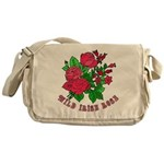 Wild Irish Rose Messenger Bag