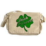 Shamrock Irish Princess Messenger Bag