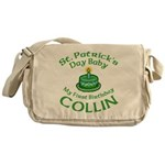 Personalized for Collin Messenger Bag