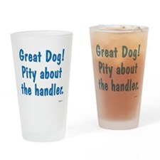 Great Dog Drinking Glass