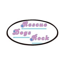 Rescue Dogs Rock Patches