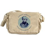 What Would Maimonides Do? Messenger Bag