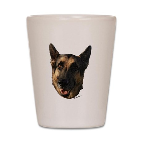 German Shepherd Dog Shot Glass