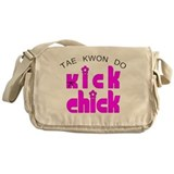Tae Kwon Do Kick Chick Messenger Bag