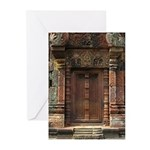 Banteay Srei False Door 1 Greeting Cards (Pk of 20