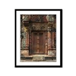 Banteay Srei False Door 1 Framed Panel Print