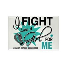 Fight Like a Girl For My Ovarian Cancer Rectangle