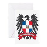 Dominican Republic Winged Greeting Cards (Pk of 10