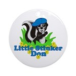 Little Stinker Don Ornament (Round)
