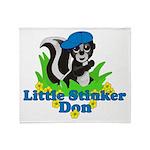 Little Stinker Don Throw Blanket
