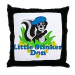 Little Stinker Don Throw Pillow