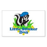 Little Stinker Don Sticker (Rectangle 10 pk)
