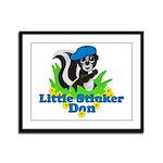 Little Stinker Don Framed Panel Print