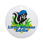 Little Stinker Eddie Ornament (Round)
