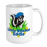 Little Stinker Eddie Large Mug
