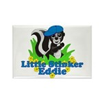 Little Stinker Eddie Rectangle Magnet