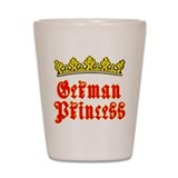 German Princess Shot Glass