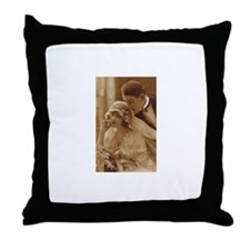Vintage Wedding Throw Pillow