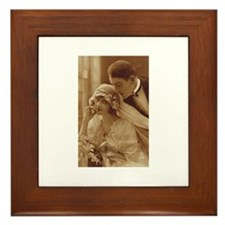 Vintage Wedding Framed Tile