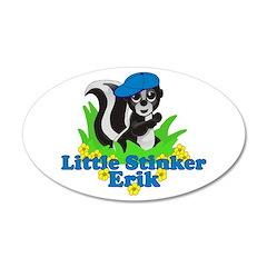 Little Stinker Erik 22x14 Oval Wall Peel