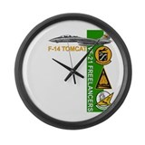 VF-21 Freelancers Large Wall Clock