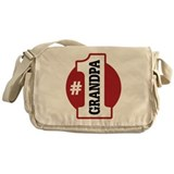 #1 Grandpa Messenger Bag