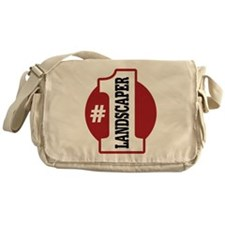 #1 Landscaper Messenger Bag
