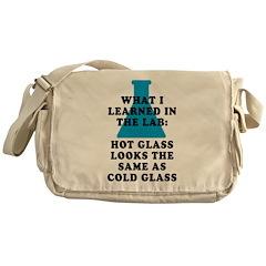 Lab Glass Messenger Bag