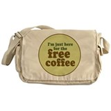 Free Coffee Messenger Bag