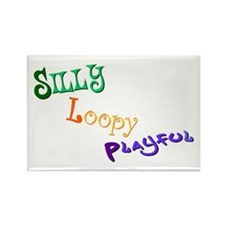 Unique Loopy Rectangle Magnet (100 pack)