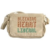 Bleeding Heart Liberal Messenger Bag