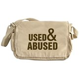 Used and Abused Messenger Bag