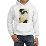Utamaro block print Hooded Sweatshirt