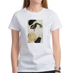 Utamaro block print Women's T-Shirt