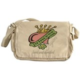 Cherished Daughter Messenger Bag