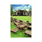 Angkor Wat Ruined Causeway Sticker (Rectangle 10 p