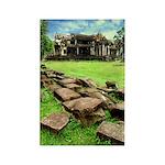 Angkor Wat Ruined Causeway Rectangle Magnet (10 pa