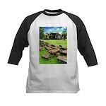 Angkor Wat Ruined Causeway Kids Baseball Jersey