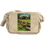 Angkor Wat Ruined Causeway Messenger Bag