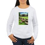 Angkor Wat Ruined Causeway Women's Long Sleeve T-S
