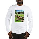 Angkor Wat Ruined Causeway Long Sleeve T-Shirt