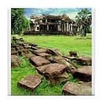 Angkor Wat Ruined Causeway Tile Coaster
