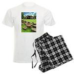 Angkor Wat Ruined Causeway Men's Light Pajamas