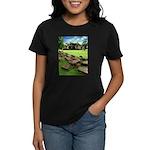 Angkor Wat Ruined Causeway Women's Dark T-Shirt