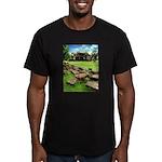 Angkor Wat Ruined Causeway Men's Fitted T-Shirt (d